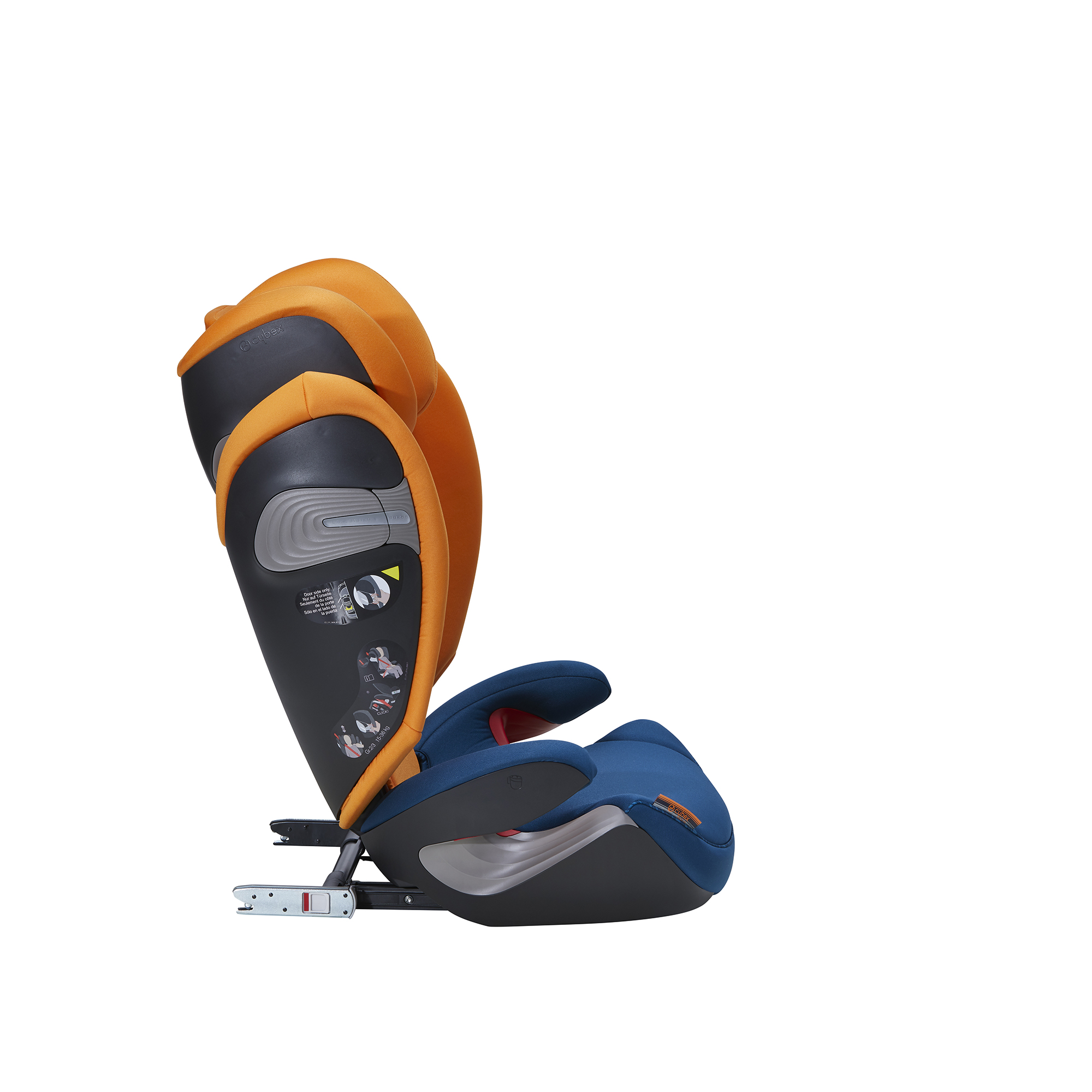 Solution S-Fix: A Car Seat for approx  3–12 year olds